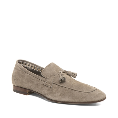 Fratelli Rossetti-Light suede loafer