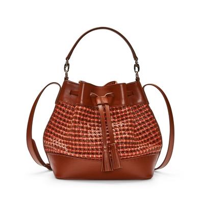 Fratelli Rossetti-Woven bucket bag