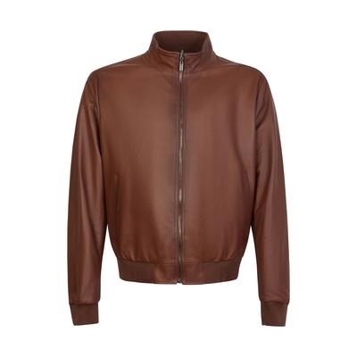 Fratelli Rossetti-Reversible leather jacket
