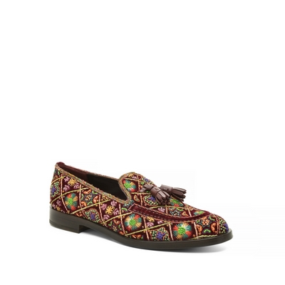 Fratelli Rossetti - Embroidered Brera loafer