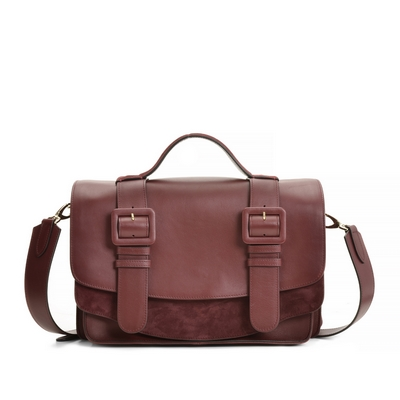 Fratelli Rossetti-Leather messenger bag