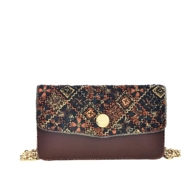 Fratelli Rossetti-Embroidered clutch bag