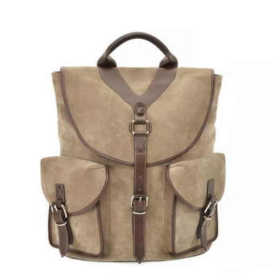 Fratelli Rossetti-Suede backpack