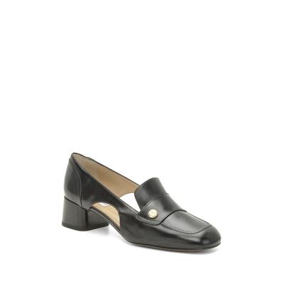 Fratelli Rossetti-Leather court shoe