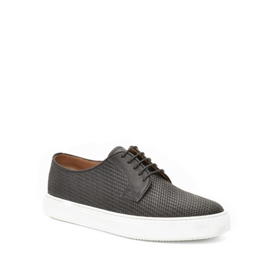 Fratelli Rossetti - Braided leather sneaker