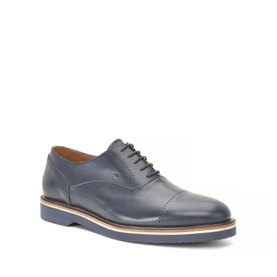Fratelli Rossetti-Hole pattern lace-up shoe