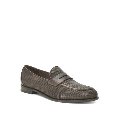 Fratelli Rossetti - Braided leather loafer