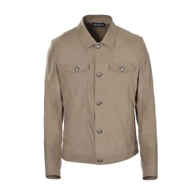 Fratelli Rossetti-Nubuk cropped jacket