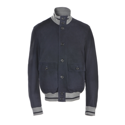Fratelli Rossetti-Suede cropped jacket