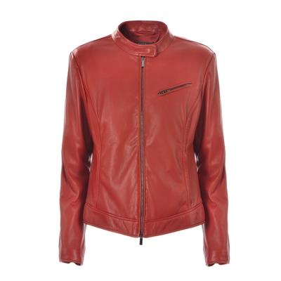 Fratelli Rossetti-Leather cropped jacket