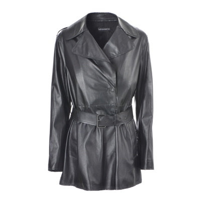 Fratelli Rossetti-Leather trench coat
