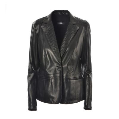 Fratelli Rossetti-Leather blazer