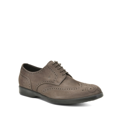 Fratelli Rossetti-Suede Derby lace-up